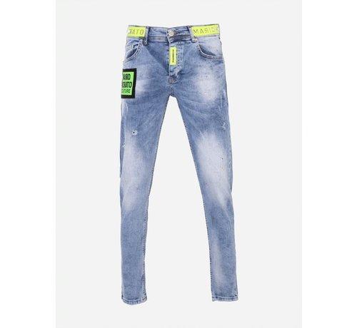 Mario Mora Jeans 2287 Blue