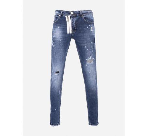 Wam Denim Jeans 01-100-A18-A Blue