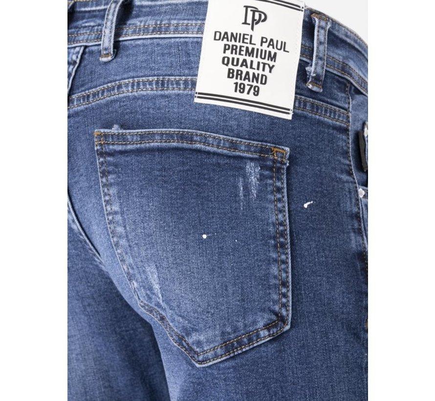 Jeans 01-100-A18-A Blue