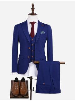 Wam Denim Kostuum 70044 Royal Blue