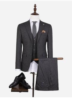 Wam Denim Suit 70050 Pordenone Anthracite