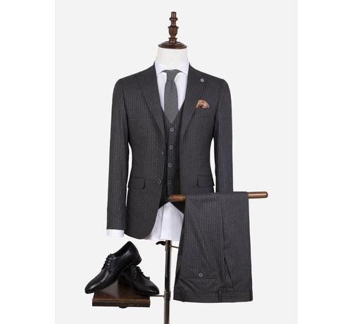 Wam Denim Kostuum 70050 Pordenone Anthracite