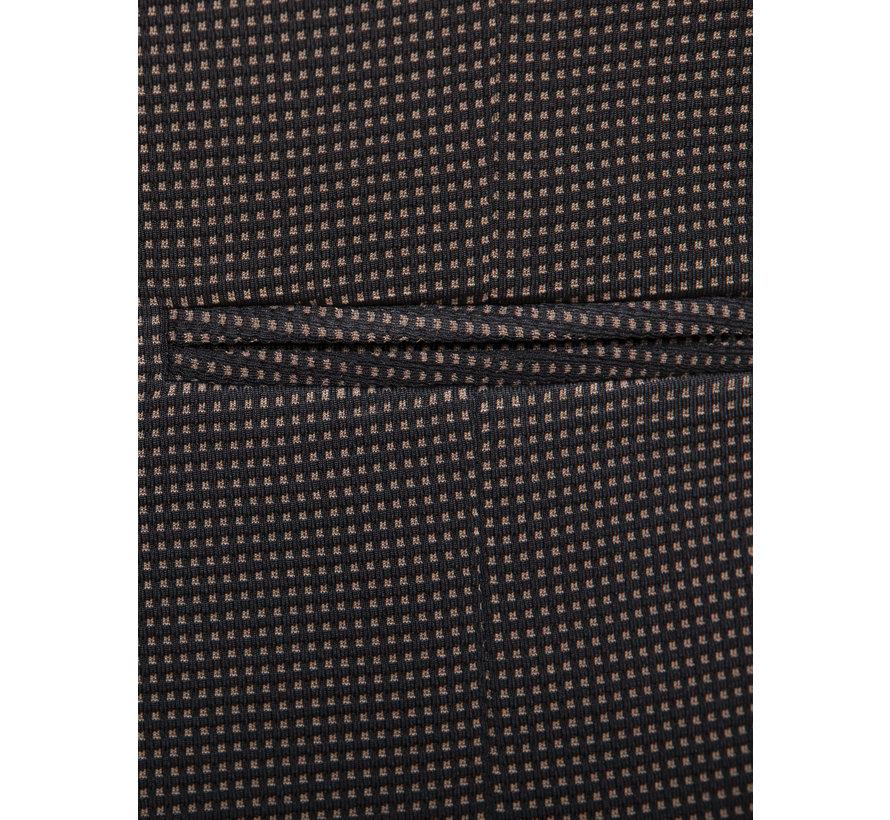 Gilet 74094 Trieste Black Brown