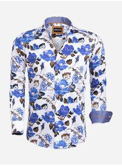Wam Denim Overhemd Lange Mouw 75582 Viareggio White