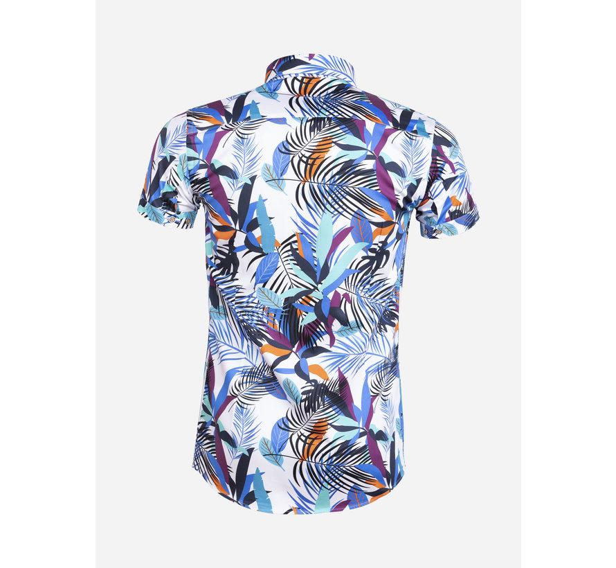 Overhemd Korte Mouw 75583 Bologna White