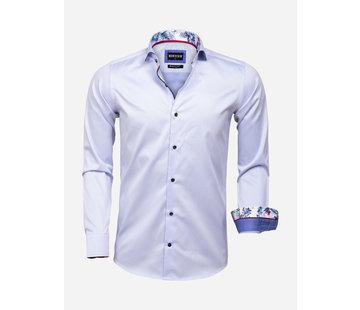 Wam Denim Overhemd Lange Mouw 75593 Durham Light Blue