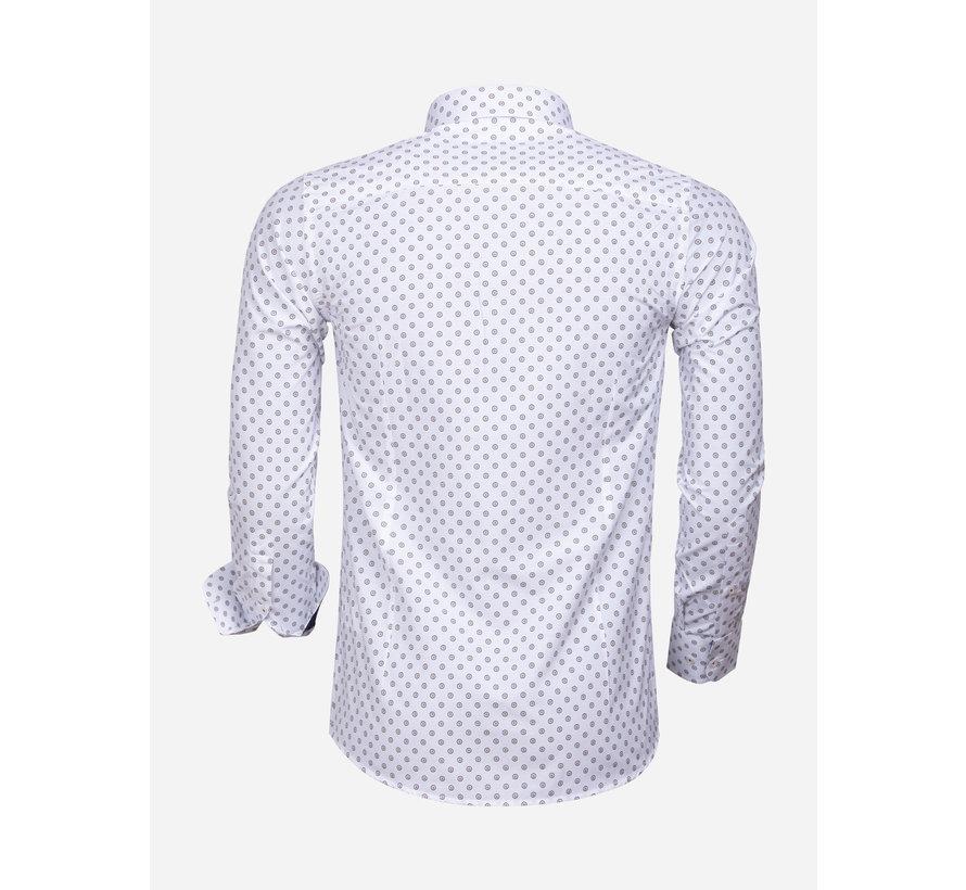 Overhemd Lange Mouw 85282 White