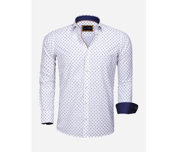 Arya Boy Overhemd Lange Mouw 85282 White