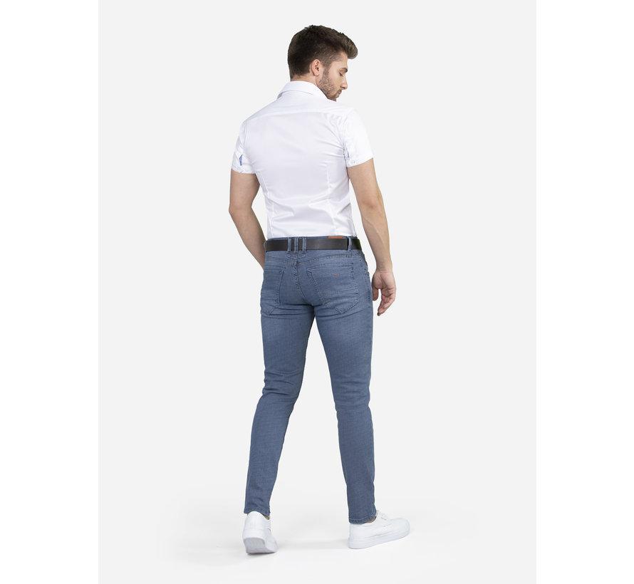 Overhemd Korte Mouw Flaes White