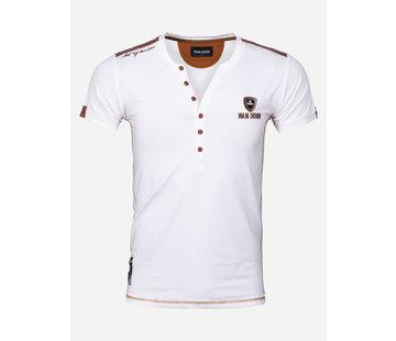 Wam Denim T-Shirt Palmdale Off White