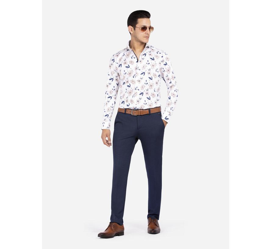 Overhemd Lange Mouw Londra White