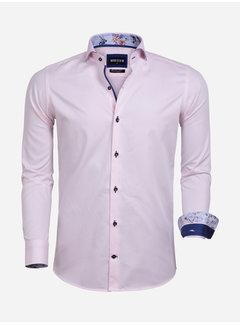 Wam Denim Overhemd Lange Mouw 75592 Leeds Pink