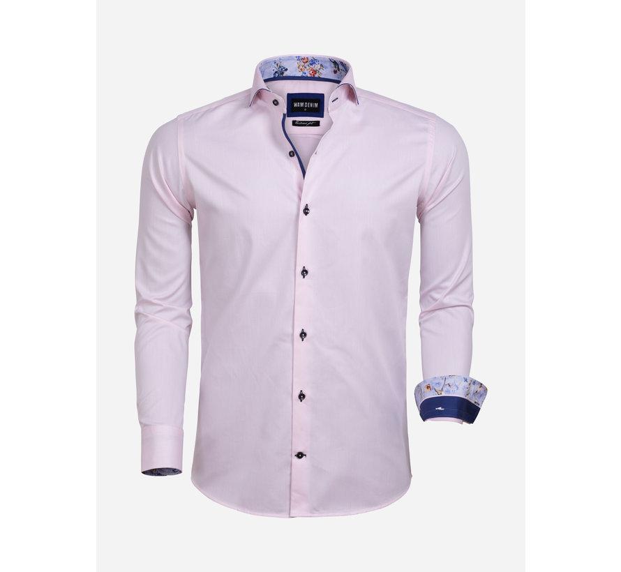 Overhemd Lange Mouw 75592 Leeds Pink