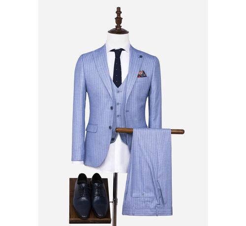 Wam Denim Pantalon 70048 Pelagie Islands Blue