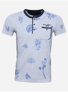 Wam Denim T-Shirt 79455 Aurora Blue