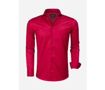 Wam Denim Overhemd Lange Mouw 75525 Red