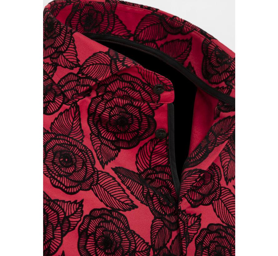 Overhemd Lange Mouw 75616 Red