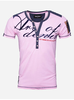 Wam Denim T-Shirt Macon Pink