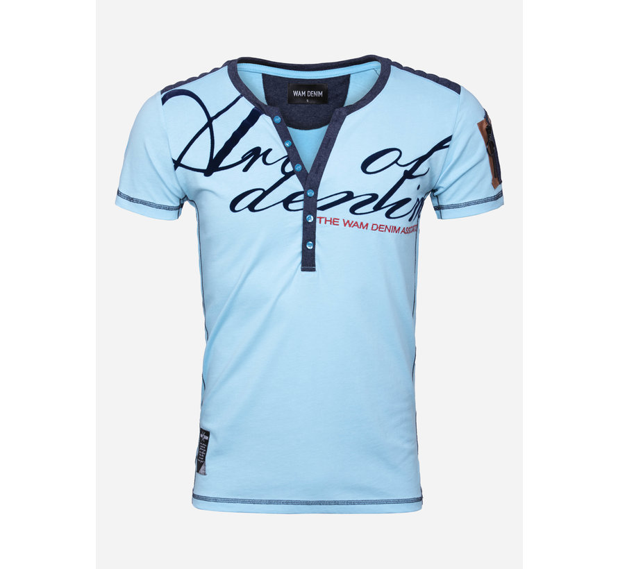 T-Shirt Macon Turquoise