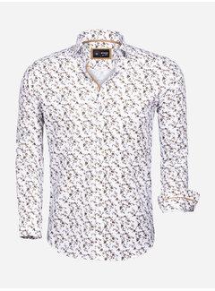 Wam Denim Shirt Langs Leeve 85281 White Peru