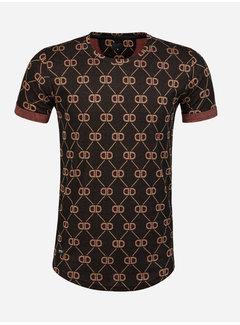 Arya Boy T-Shirt Rorschach Black