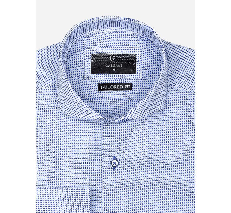 Overhemd Lange Mouw 65020 Alghero Royal Blue