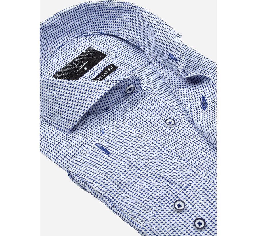 Shirt Long Sleeve 65020 Alghero Royal Blue