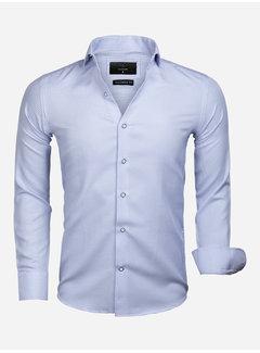 Gaznawi Overhemd Lange Mouw 65020 Alghero Blue