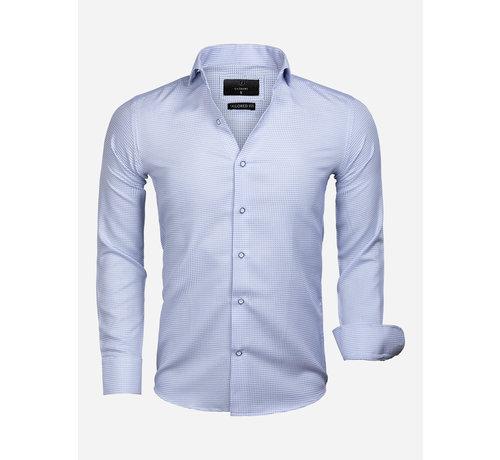 Gaznawi Shirt Long Sleeve 65020 Alghero Blue