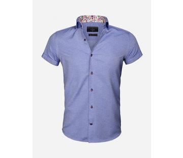 Gaznawi Shirt Short Sleeve 65038 Modena Royal Blue