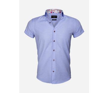 Gaznawi Shirt Short Sleeve 65038 Modena Blue