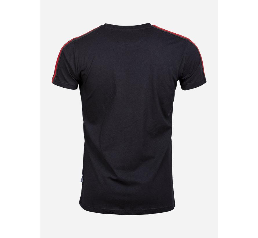 T-Shirt 69094 Vista Black