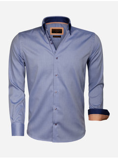 Gaznawi Overhemd Lange Mouw 65004 Cenova Light Navy