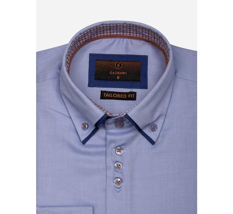 Overhemd Lange Mouw 65002 Castrovillari Light Blue