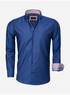 Gaznawi Shirt Long Sleeve 65002 Castrovillari Light Navy