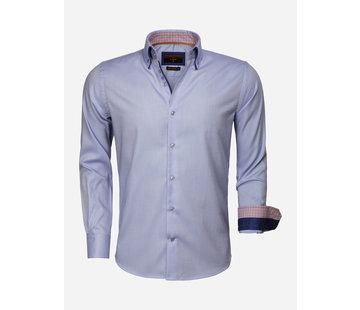 Gaznawi Overhemd Lange Mouw 65002 Castrovillari Light Blue