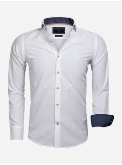 Gaznawi Overhemd Lange Mouw 65032 White