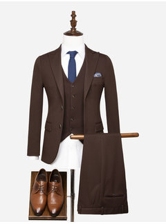 Wam Denim Suit 70054 Le Havre Brown