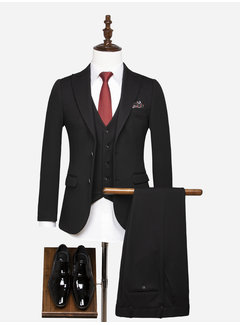 Wam Denim Kostuum 70053 Reims Black