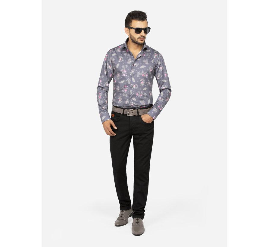 Shirt Long Sleeve 75609 Oviedo Anthracite