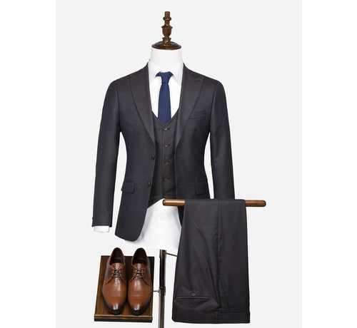 Wam Denim Pantalon  70055 Grenoble Brown Navy
