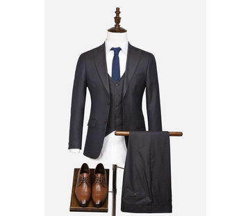 Wam Denim Kostuum 70055 Grenoble Brown Navy