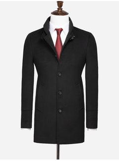 Wam Denim Trenchcoat 71243 Westminster Black