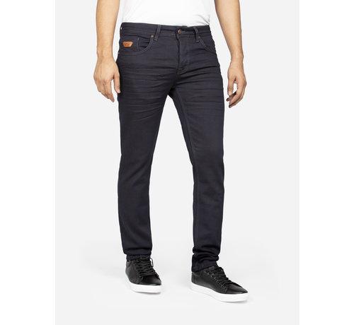 Wam Denim Jeans 72211 Artzi Navy Brown L34