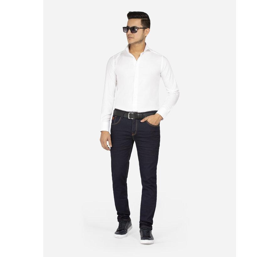 Overhemd Lange Mouw Burgos White