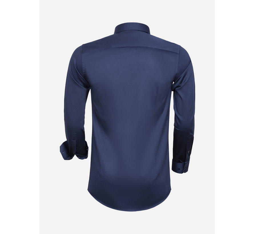 Shirt Long Sleeve 75595 Navy