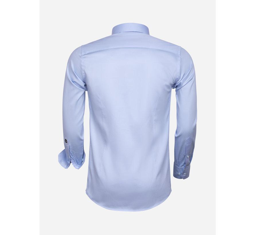 Shirt Long Sleeve 75595 Blue