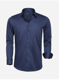 Wam Denim Shirt Long Sleeve 75595 Navy