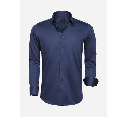 Wam Denim Overhemd Lange Mouw 75595 Navy