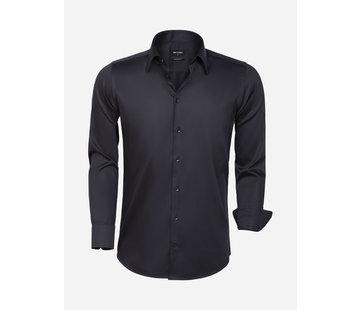 Wam Denim Overhemd  Lange Mouw 75595 Black